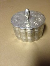Antique silver plated box in Perry, Georgia