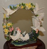 Mirror with Doves in Alamogordo, New Mexico