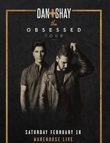 **** (2) DAN + SHAY FLOOR CONCERT TIX - TONIGHT, Feb. 18 - 8pm - IN FRONT OF STAGE - CALL NOW **** in Houston, Texas