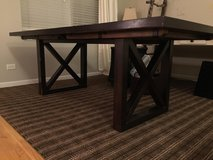 Crate & Barrel dining table in Bartlett, Illinois