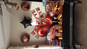 Disney Cars Party Decorations in Naperville, Illinois