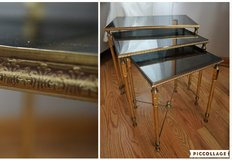 Vintage French Nesting Tables in Great Lakes, Illinois