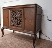 Antique French Phonograph Cabinet in Great Lakes, Illinois