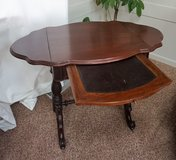 Antique Writing Table in Great Lakes, Illinois
