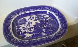 staffordshire blue willow plater in Lumberton, North Carolina
