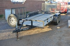Used Top Hat Utility Trailer in Alamogordo, New Mexico