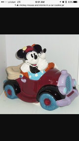Mickey cookie jar in Fort Carson, Colorado