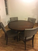 Beautiful round table with 4 chairs in Fort Polk, Louisiana