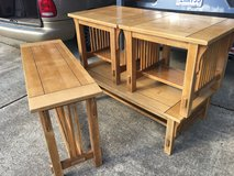 3 Coffee table sets with bench in Fort Polk, Louisiana