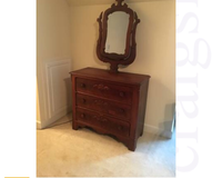 Drawer chest and mirror in Gainesville, Georgia