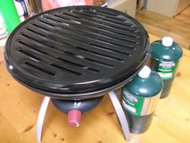 COLEMAN GRILL/STOVE + 2 CANS GAS in Okinawa, Japan