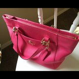 Coach Pink Satchel Purse Lightly Used in Ramstein, Germany