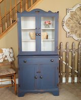 Old Repainted Distressed China Cabinet in Joliet, Illinois