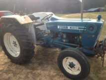 Ford 4100 Diesel tractor wth implements in Perry, Georgia