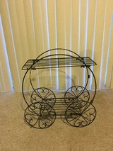 Lawn cart plant stand in Joliet, Illinois