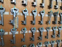 Old Hospital Key Cabinet with over 200 keys! in Wiesbaden, GE