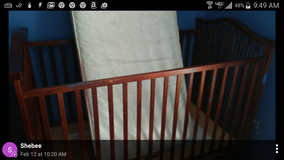 Baby bed in Fort Benning, Georgia