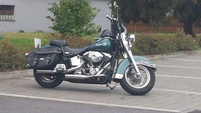 2002 Harley-Davidson Heritage Softail Classic in Hohenfels, Germany