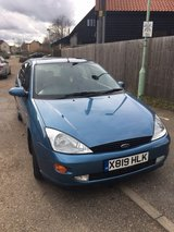 Ford Focus 1.6 Ghia Auto Top of the range 2001 in Lakenheath, UK