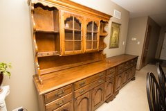 Beautiful Antique Hutch and Buffet in Joliet, Illinois