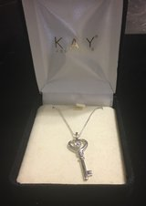 NEW * KAY Jewelers Sterling Silver Necklace & Pendent in Baytown, Texas