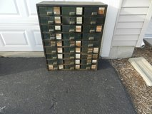 Vintage metal 27 drawer cabinet in Sandwich, Illinois