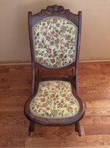 Antique sewing rocking chair in Joliet, Illinois
