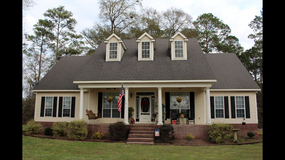 Custom built 3/2.5 2454 sf home on 2 secluded acres. in Moody AFB, Georgia