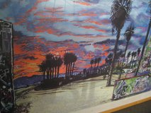 Pro-Framed Grafitti Art poster in Camp Pendleton, California