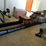 Water rower in Alamogordo, New Mexico