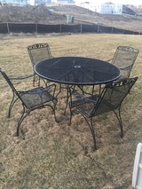Wrought Iron Table and Chairs in Joliet, Illinois