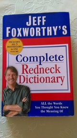 Jeff Foxworthy's Redneck dictionary in Byron, Georgia