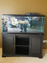 Fish tank and stand 55 gallon in Joliet, Illinois