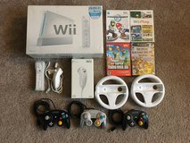 Wii with extra controllers and games in Tacoma, Washington