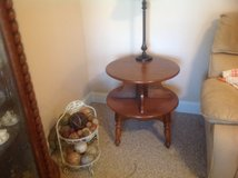 End table (hard rock maple) in Camp Lejeune, North Carolina