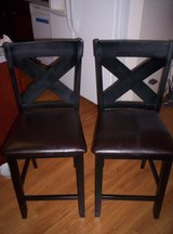 2 BAR STOOL CHAIRS AND DESK CHAIR in Schofield Barracks, Hawaii