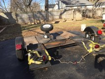 Car Tow Dolly Trailer New Tires Plus Light Kit in Joliet, Illinois