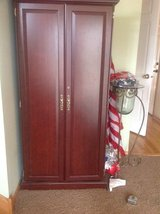 Office armoire and bookcase in Bartlett, Illinois
