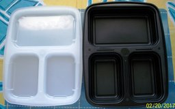 Divided food trays in Yucca Valley, California