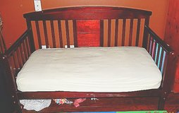 Toddler bed w/ mattress in Glendale Heights, Illinois