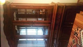 Lighted Glass Hutch in Fort Lewis, Washington