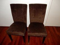 Suede Cloth Chairs in Ramstein, Germany