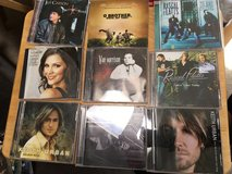 CD's:  Country, Rock n Roll, Rhythm and Blues, Pop, Idols in Camp Pendleton, California