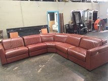 Brand new leather sofas recliners in Los Angeles, California