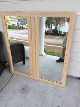 Large wall hanging mirror in Beaufort, South Carolina