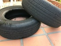Tires:  P215 70R 15 in Oceanside, California