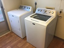 High-efficiency Washer & Electric Dryer- Like New! in Fort Irwin, California