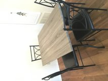 Table and 4 chairs in Temecula, California