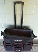 Xtra Large Husky portable Tool bag with wheels in Indianapolis, Indiana