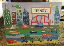 """Personalized """"Henry"""" Canvas Picture in Joliet, Illinois"""
